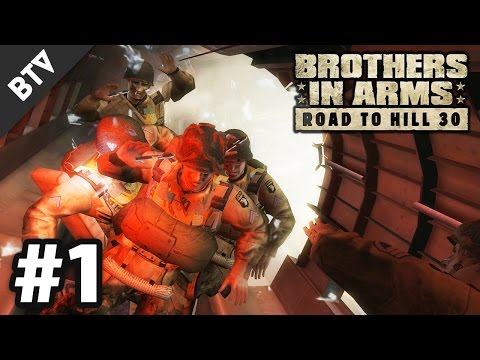 HERE WE GO! | Brothers in Arms: Road to Hill 30 Campaign Walkthrough #1