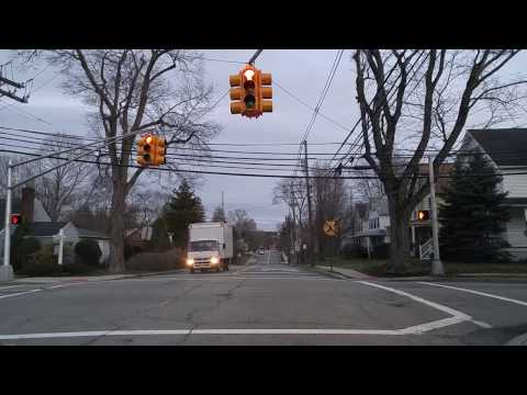 Driving by Closter,New Jersey