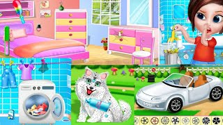 House Cleaning - Home Cleaning Girls Game | Android Games screenshot 2