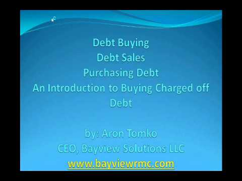 Buying Charged off Debt | An introduction pt. 1| 866-546-9088 Ext. #606