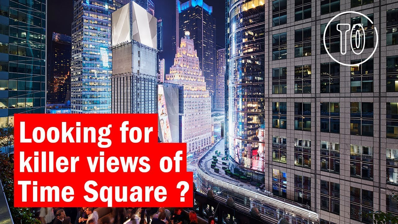 Rooftop Bar in Times Square with Instagram-Worthy ...
