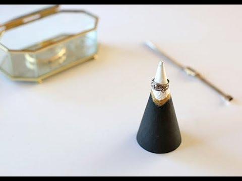 DIY Mountain Ring Holder Tutorial