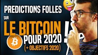 PRÉDICTIONS FOLLES SUR LE BITCOIN EN 2020 ! (+ OBJECTIFS 2020)
