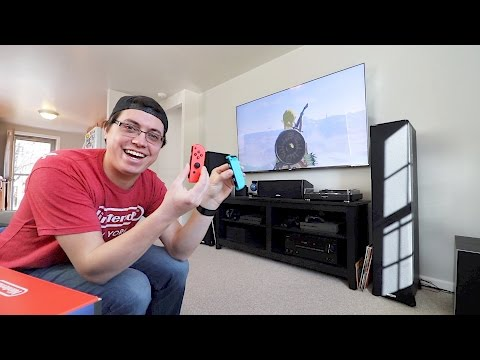 MY FIRST WEEKEND WITH THE NINTENDO SWITCH