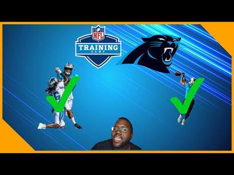 Carolina Panthers DJ Moore And Donte Jackson Battle In Training Camp!! LCameraTV