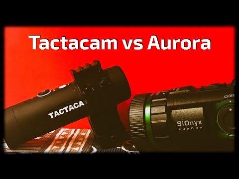 SiOnyx Aurora vs. Tactacam 4.0