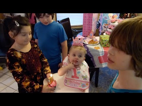 Ayla's First Birthday Party!