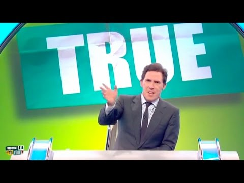 Rob Brydon struggles hosting  Would I Lie to You Outtakes