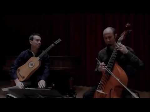 Marais 'La Guitare' - Robert Smith, viola da gamba & Israel Golani, baroque guitar