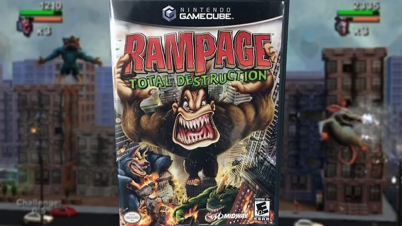 Rampage Total Destruction Gamecube Mike Bootsy Youtube