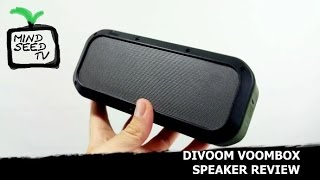 Outdoor Bluetooth Speaker | Divoom Voombox Review