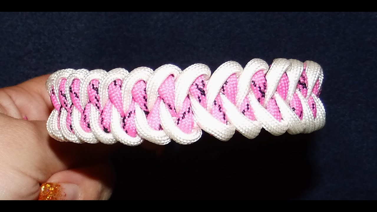 Anleitung f 252 r paracord piranha knot armband d youtube