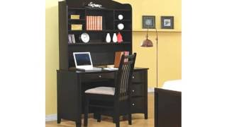 Phoenix Computer Desk With Hutch And Chair By Coaster Furniture (home)