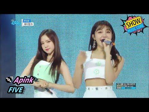 [HOT] Apink - FIVE, 에이핑크 - 파이브 Show Music Core 20170708