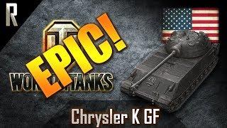 ► World of Tanks - Epic Games: Chrysler K GF [11 kills, 5950 dmg]