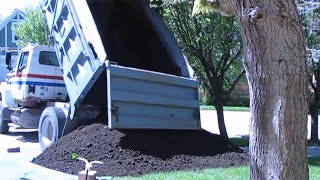 Ten Cubic Yards of Topsoil Delivered
