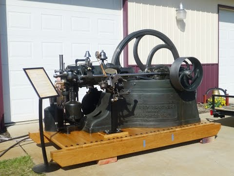 1882 Crossley Slide Valve Flame Ignition Engine After Restoration