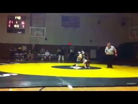 Matt Strickland 106lbs wrestling