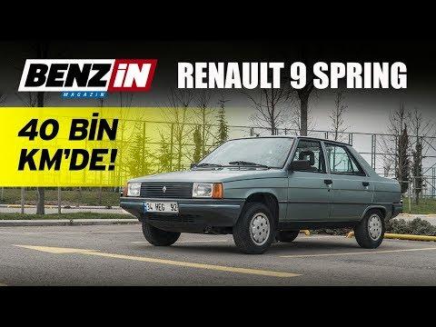 Renault 9 Spring   Bir Tur Versene   40 Bin Km'de