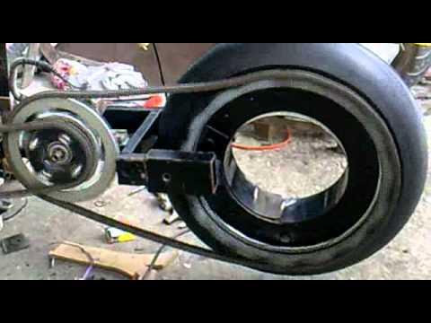 Hubless Wheel Prototype Scooter By Hand Made Tuning
