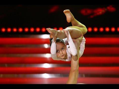 Beatrice Călcâi, din Chișinău, acrobație pe scena Next Star