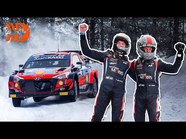 Ott Tänak WINS Arctic Rally Finland 2021