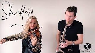 Shallow - Sax And Violin (Instrumental Cover) Eli Bennett & Rosemary Siemens (2019)
