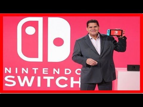 Reggie fils-aime says nintendo is doing everything they can to get more switch units into market by