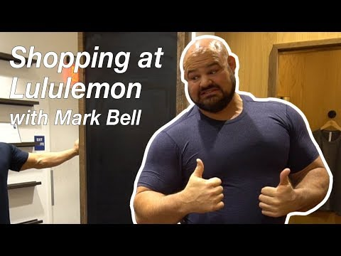 Shopping at Lululemon with Mark Bell | Brian Shaw