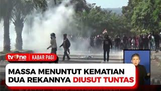 Demo Mahasiswa Berujung Ricuh, Polisi Lepaskan Gas Air Mata | Kabar Pagi TvOne