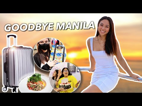 LAST FEW DAYS in Manila (moving out, yacht & shopping)