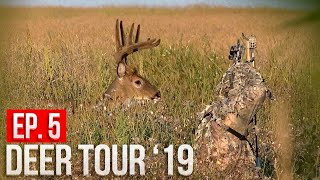 BIG VELVET BUCK inside 10 YARDS!  Spot and Stalk Deer Hunting