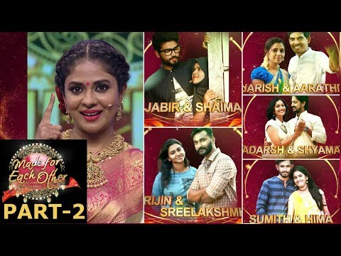 Made for each other season 2 I S2 Grand Finale Part - 02 I Mazhavil Manorama