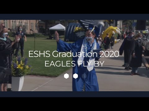 El Segundo High School Graduation 2020 Eagles Fly By