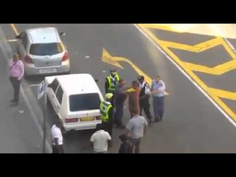 Police brutality towards foreigner in South Africa