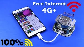 NEW FREE INTERNET 100% SUCCESS IDEAS - WITHOUT SIM CARD & WiFI ROUTER FREE INTERNET TECHNOLOGY 2019