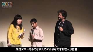 インド映画『スタンリーのお弁当箱』の監督と主演、日本のお弁当に舌鼓