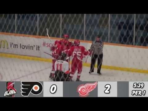 Orangeville Flyers at Hamilton Red Wings Highlights (September 9 2014) OJHL