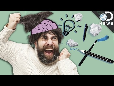 How Creativity And Mental Illness Are Linked