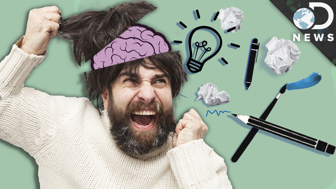 Creativity May Be Genetically Linked with Psychiatric Disorders