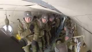 Первый прыжок с парашютом  The First Parachute Jump In The Russian Army