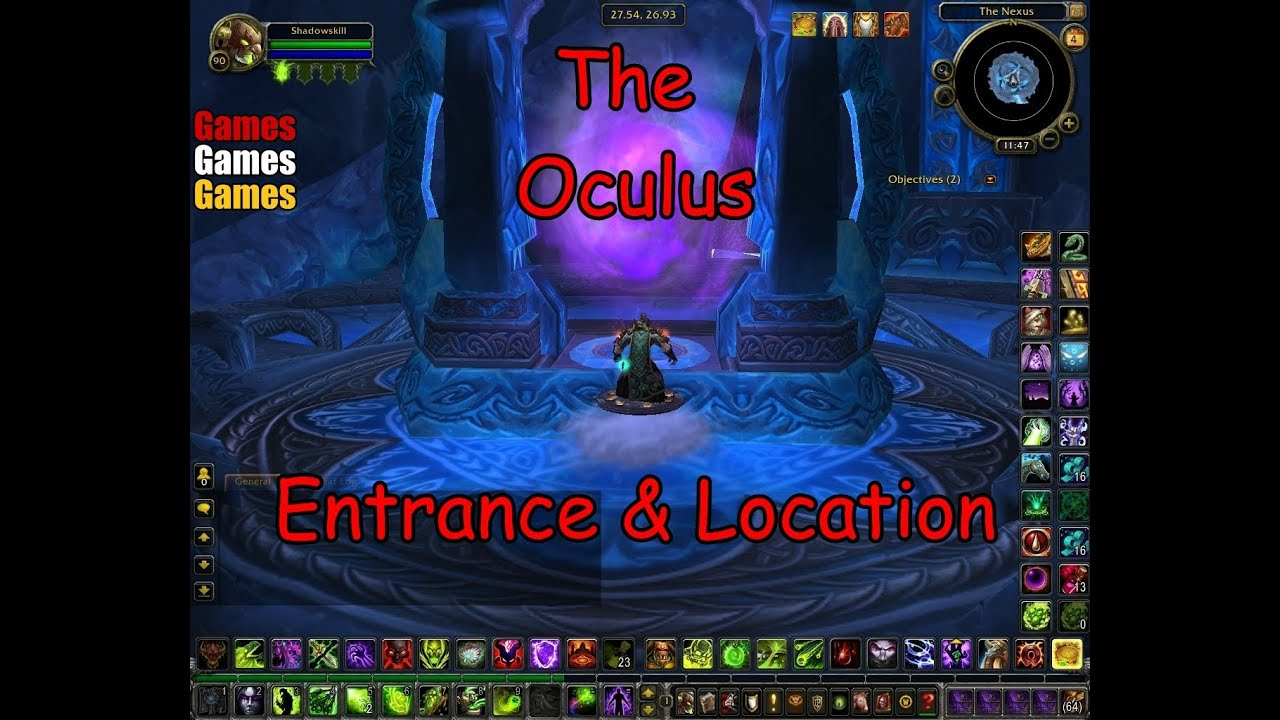 the oculus entrance location world of warcraft wrath of the lich king youtube. Black Bedroom Furniture Sets. Home Design Ideas