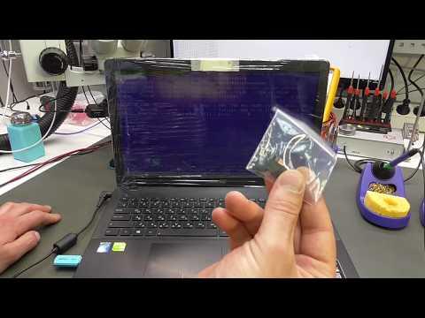 Ремонт Asus X552C. Устранение типовой проблемы.