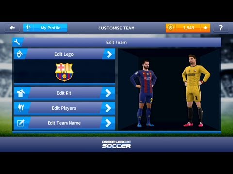 how to import fc barcelona kit in dream league soccer 17 very