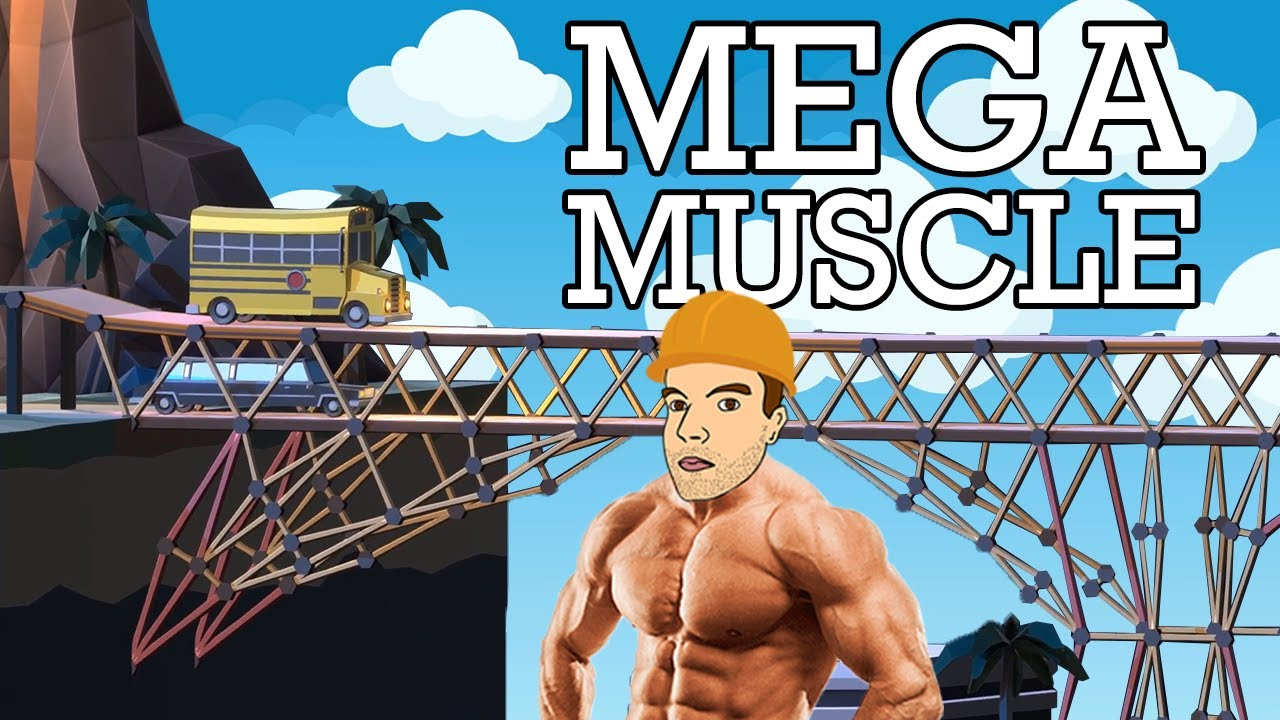 Download A real civil engineer HITS THE GYM in Poly Bridge 2!