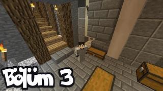 SINIRSIZ XP ve KEMİK FARM | Bölüm 3 | Minecraft Survival 1.11.2