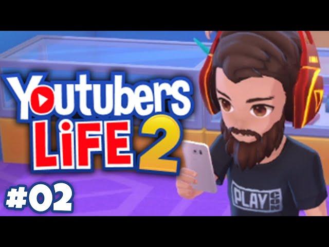 COMO Seguir as TENDÊNCIAS | #02 | Youtubers Life 2 | Gameplay em Português PT-BR