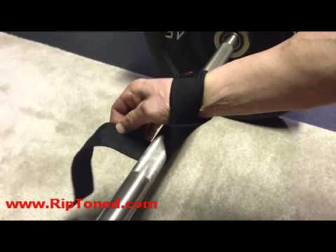How to Use Weightlifting Wrist Straps for Wrist Support When Bodybuilding and Powerlifting