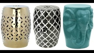 Garden Stool | Garden Stool Accent Table