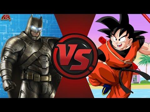 BATMAN vs GOKU! (DC Comics vs Dragon Ball) Cartoon Fight Club Episode 144